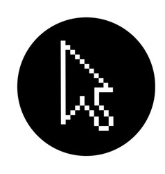 Arrow mouse pointer icon vector