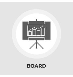 Board flat icon vector image