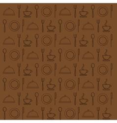 Cafe background vector image