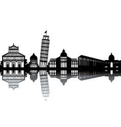 City landmarks vector