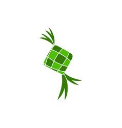 Ketupat icon design vector