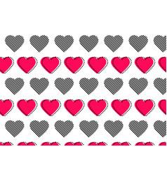 love heart logo background love heart logo vector image