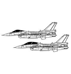 Mitsubishi f-2 vector