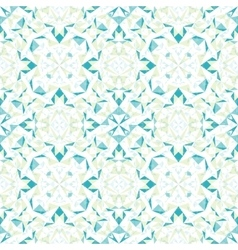 Modern White Blue Green Abstract Geometric vector image