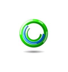 Power button logo vector