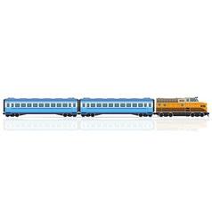 Railway train 01 vector