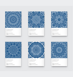 trendy classic blue color minimal graphic vector image