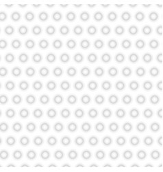 white texture abstract pattern seamless circle vector image