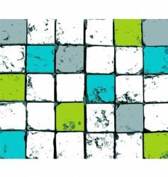 abstract mosaic vector image vector image