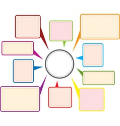 message background vector image vector image