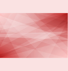 red geometric abstract background vector image vector image