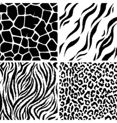 Animals Seamless Pattern vector