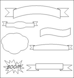 Banner backround vector