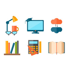 Education And School Web Icon Vector ...