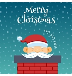 Funny santa claus 2 vector