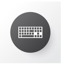 keyboard icon symbol premium quality isolated vector image