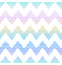 Rainbow zigzag seamless pattern vector
