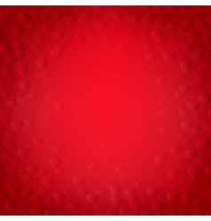 red background with hearts vector image