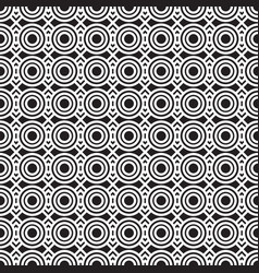 stylish black and white geometric graphic pattern vector image