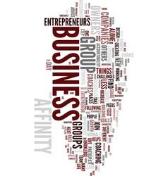 team effort pays off for entrepreneurs text vector image