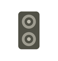 Woofer icon in on white background vector