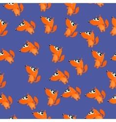 cute cartoon squirrel vector image vector image