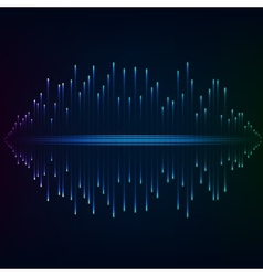 Blue flash abstract background vector