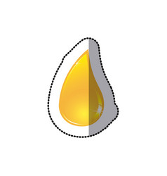 Drop oil icon stock vector