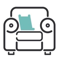 Furniture icon vector image