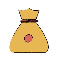 bag money safety money finance symbol vector image vector image