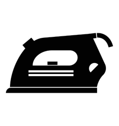 Iron icon simple style vector image