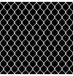 Steel Wire Mesh Seamless Background vector image vector image