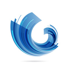 abstract business symbol vector image
