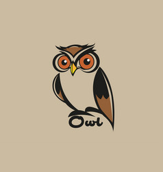 owl vector image
