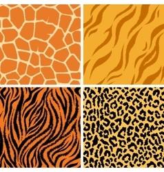 animals Seamless Pattern vector image