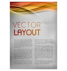 background red layout vector image