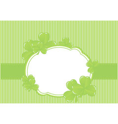 greeting cards st patrick day vector image