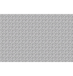 Islamic 3d light grey background architectural vector image