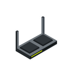 router antenna technology hardware device computer vector image