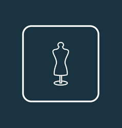 tailors dummy icon line symbol premium quality vector image