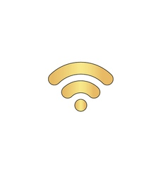 Wifi signal computer symbol vector