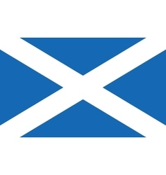 Flag of scotland also known as st andrews cross or vector