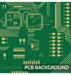 Pcb background vector image