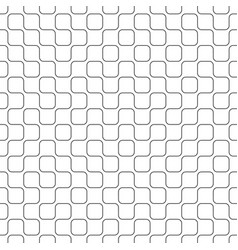 abstract geometric truchet pattern seamless vector image