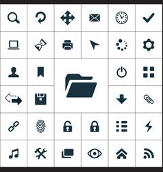 App icons universal set vector