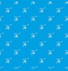 basket calendar twenty fifth of november pattern vector image