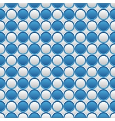 Blue and white seamless volume texture vector image