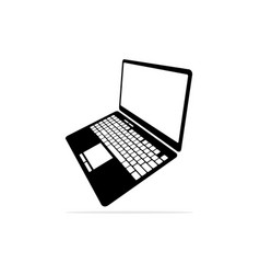 computer notebook icon concept for vector image
