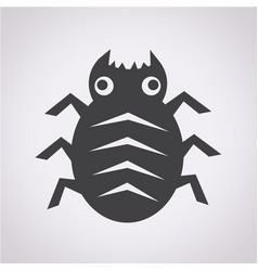 cyber bug icon vector image