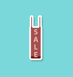 Fashion patch sale sticker signboard discount vector